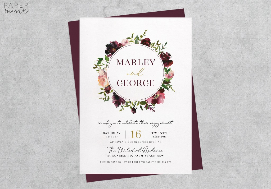 15% off printed invitations on Paper Minx Designs on Etsy   Offer ends June 30