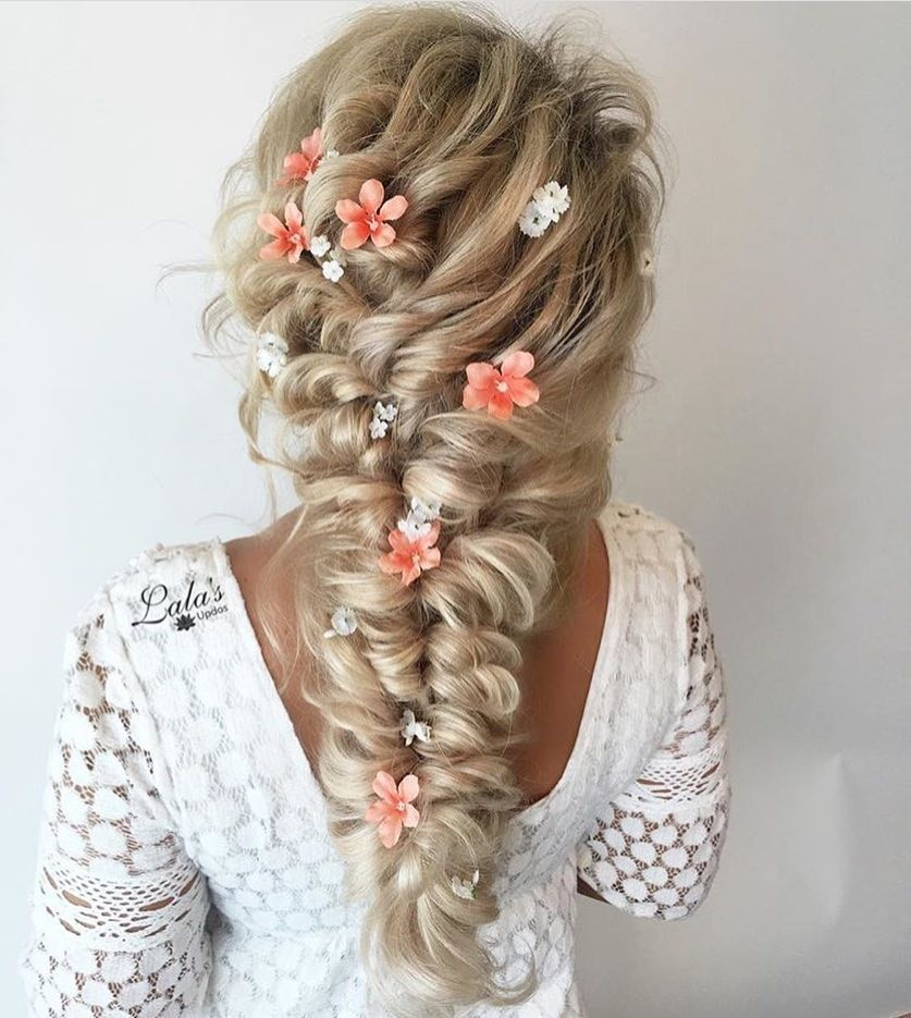 Gorgeous style using Glam Seamless Clip Extensions by @lalasupdos