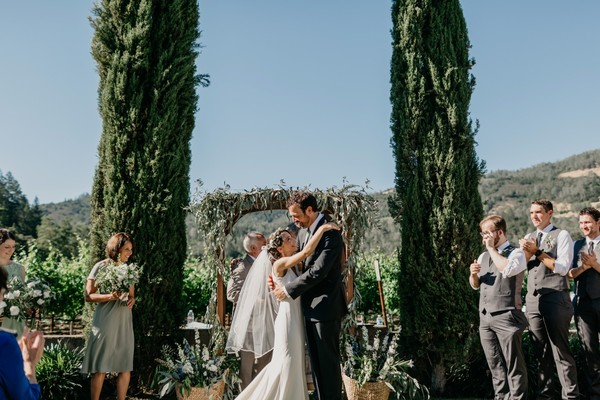A Romantic Family Vineyard Wedding in the Heart of Napa Valley