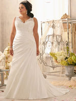 Figure Flattering Plus Size Wedding Gowns