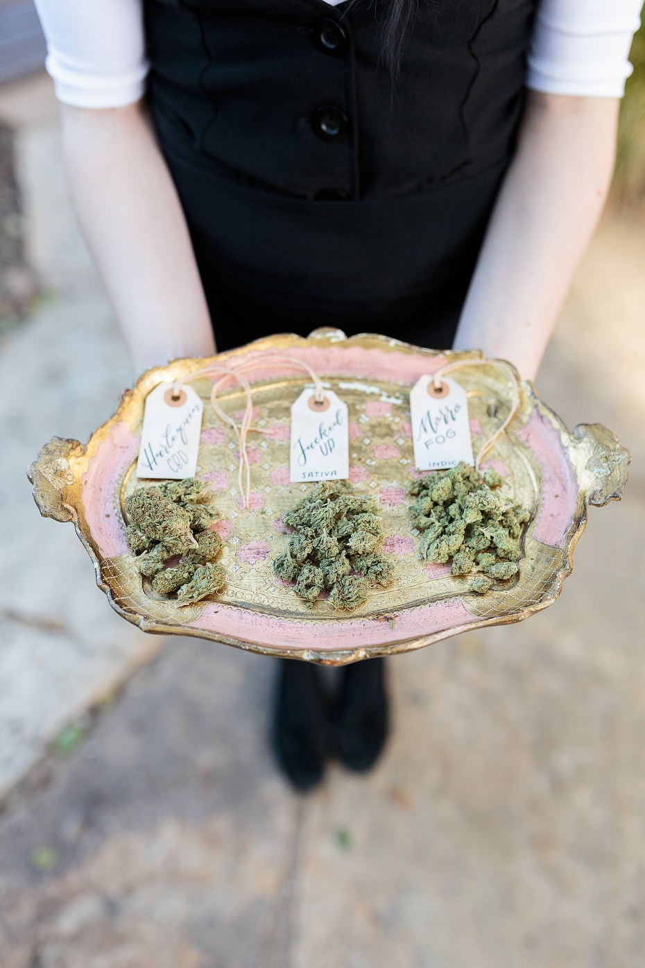 Cannabis infused wedding ideas