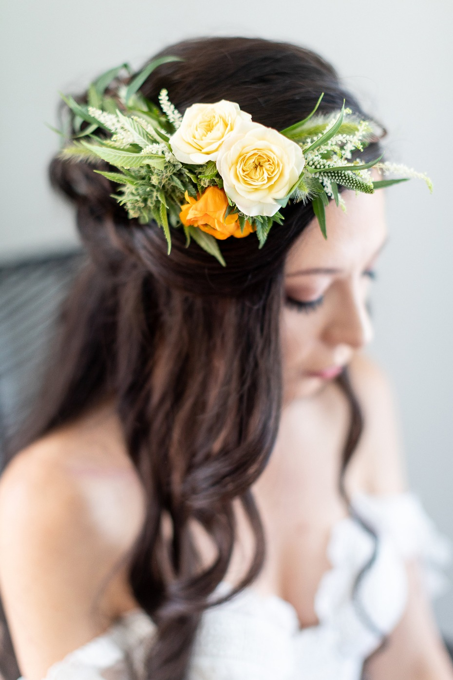 Cannabis infused flower crown