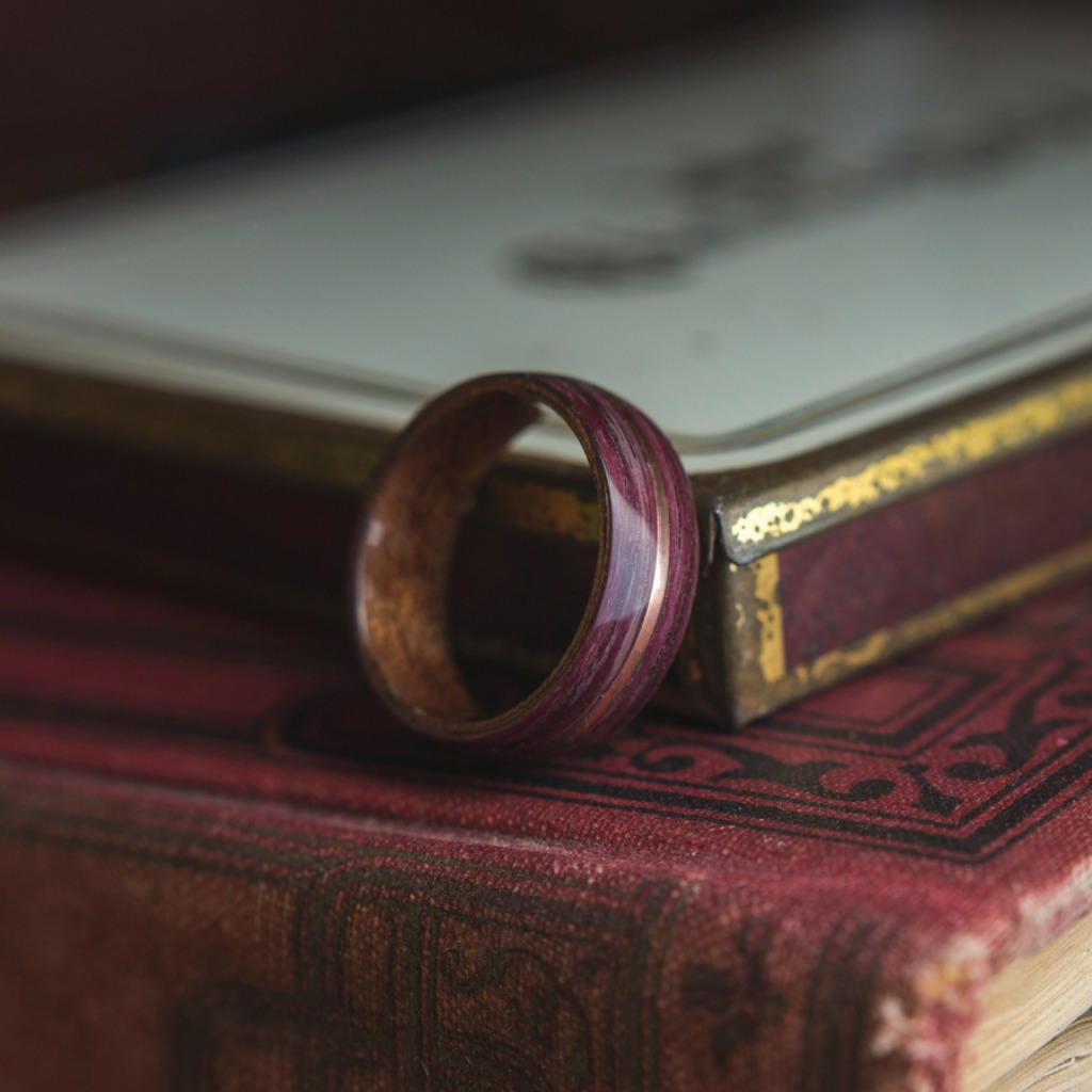 Mens Bentwood Wedding Rings! A truly organic wedding ring. These wood rings are much more durable then most people think.