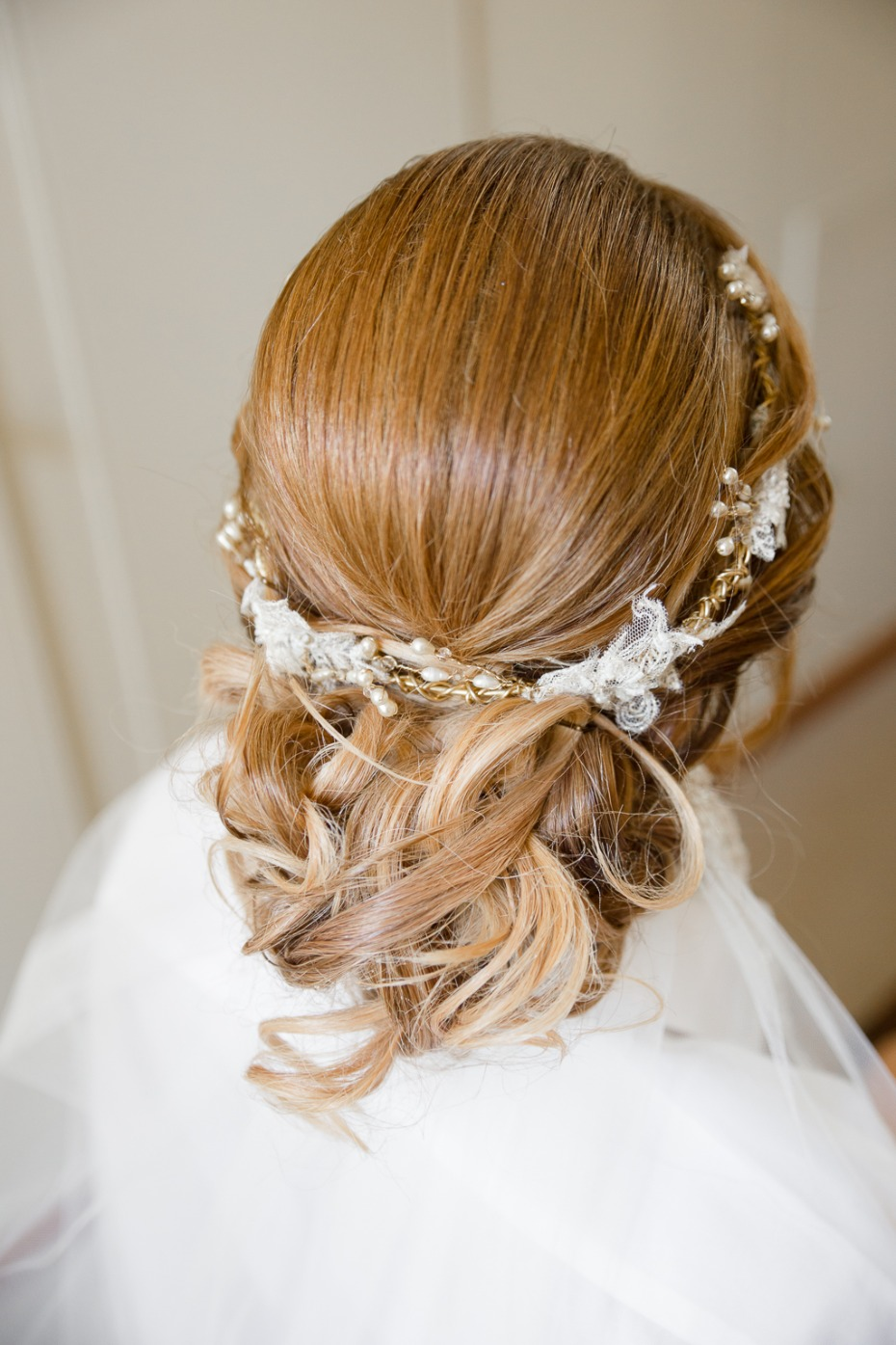 Real bridal hair