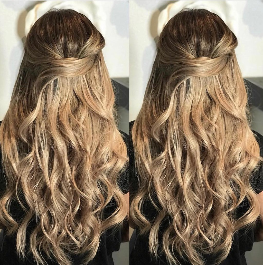 We can't get over how beautiful #glamseamless hair