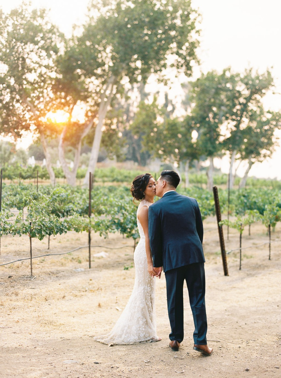 September winery wedding in California