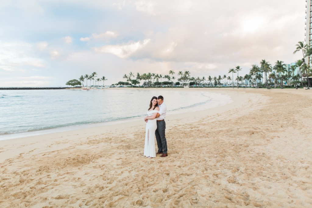 Intimate Elopement at Hilton Hawaiian in Waikiki, Hawaii