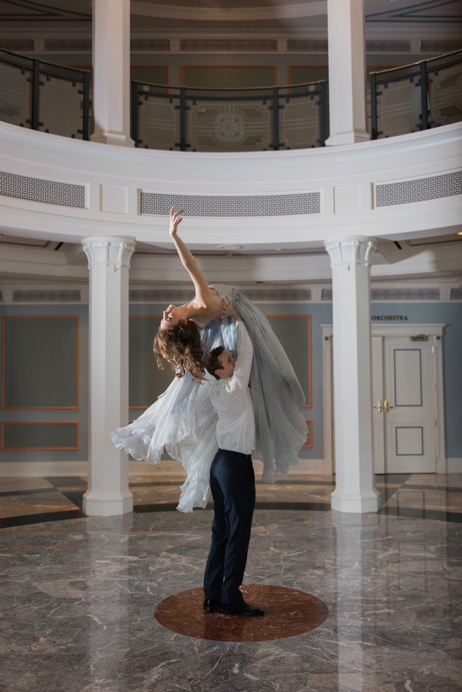 Ballet engagement shoot