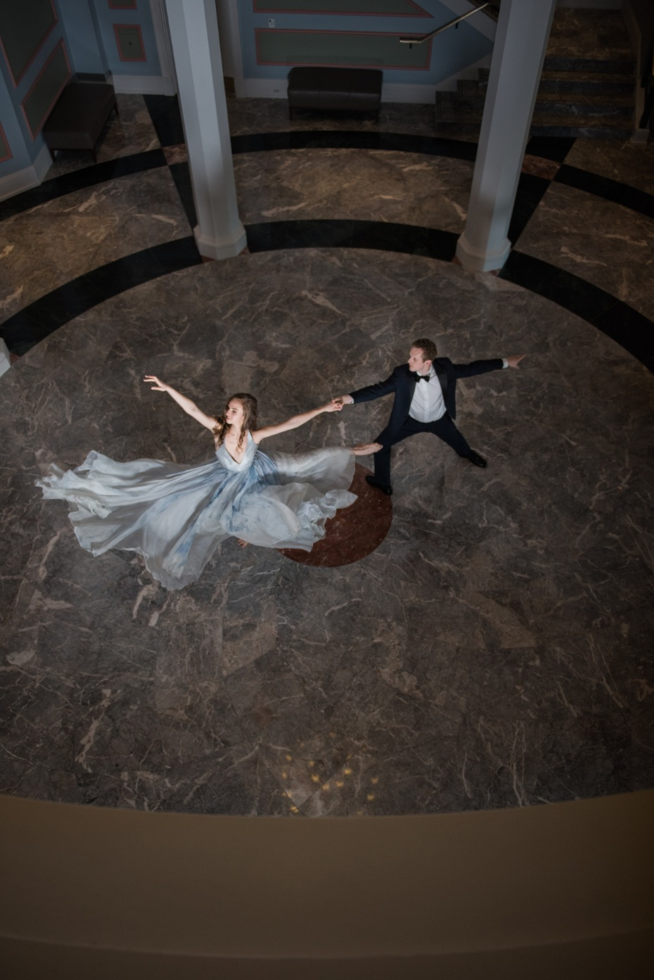 engagement shoot dance