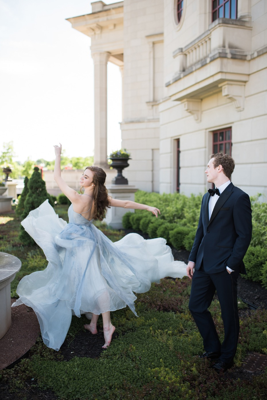 ballerina engagement shoot