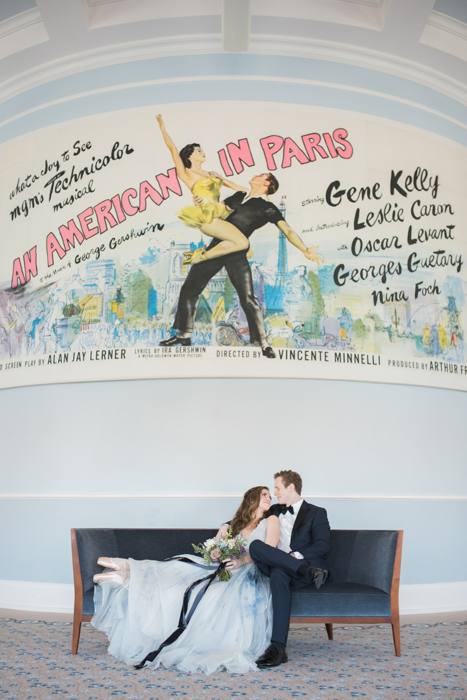 ballet inspired engagement shoot