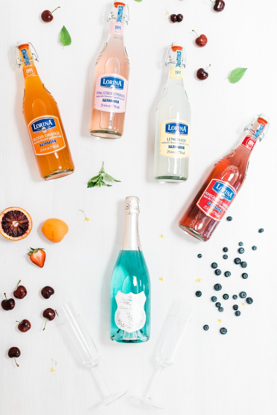 Blanc de Bleu Breakfast at Tiffany's Bridal Shower Mimosas