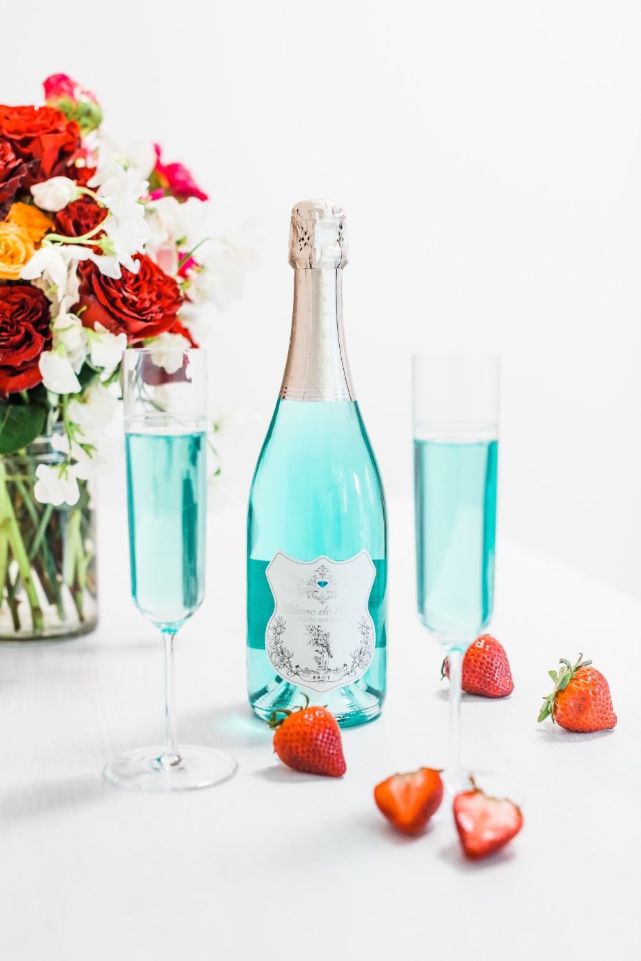Blanc de Bleu Breakfast at Tiffany's Brunch Mimosa