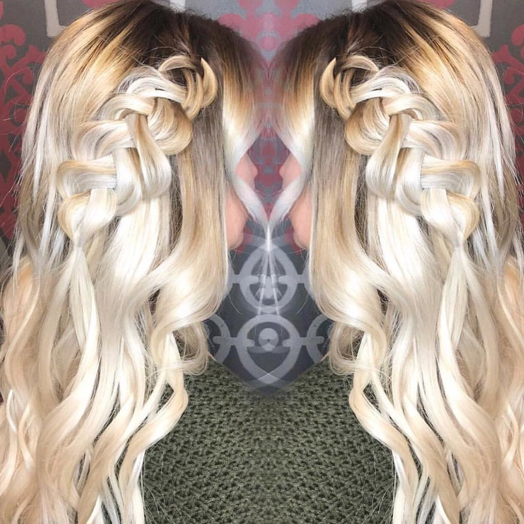 To prove all those who think you can't braid or do fun things with tape in extensions in wrong! Loving these braids using