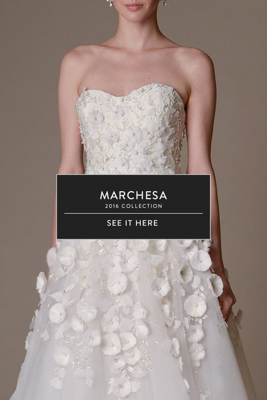 Marchesa Spring/Summer 2016 Bridal Collection
