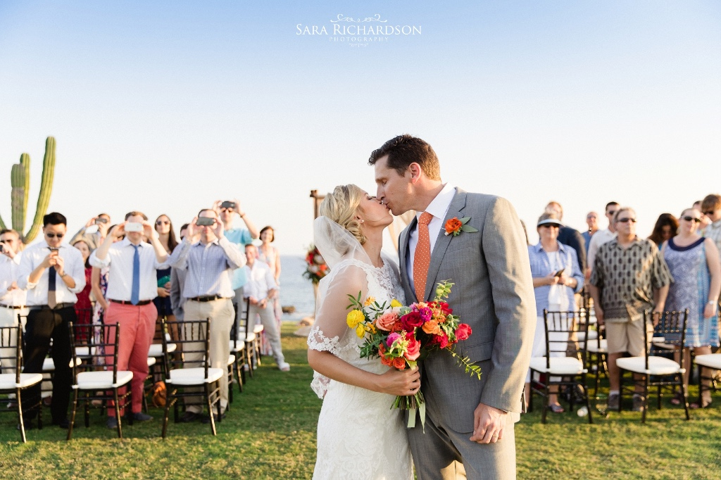 Colorful and Vibrant Cabo Destination Wedding.