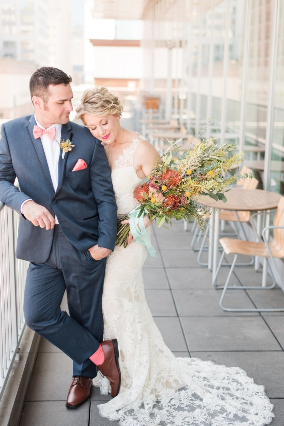 Modern Bright And Bold Wedding Ideas