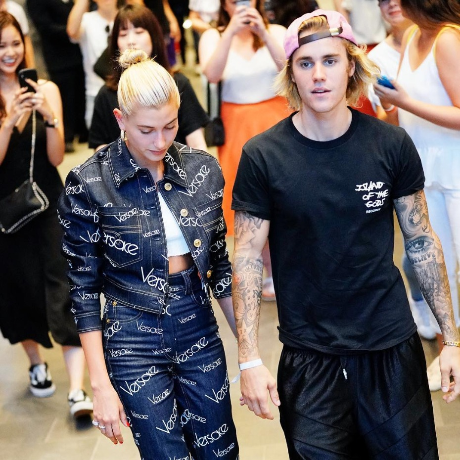 Justin and Hailey Engaged