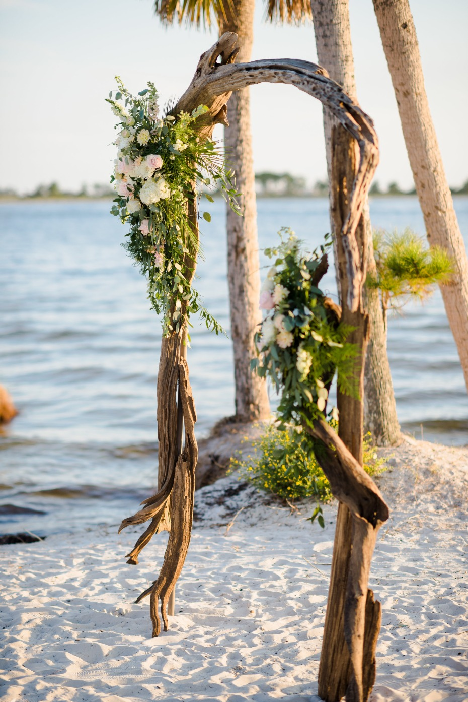 Sheraton Bay Point Resort Wedding on the Beach Photo by Kiersten Grant