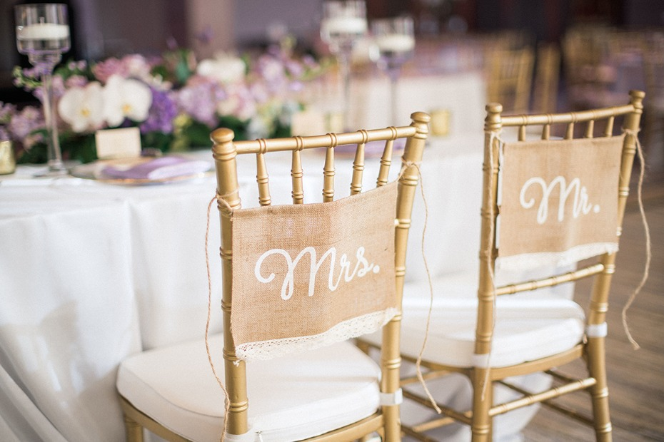 wedding couple seating signs