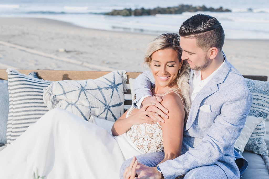 """Beach wedding glam! How to achieve the """"no makeup"""" look."""