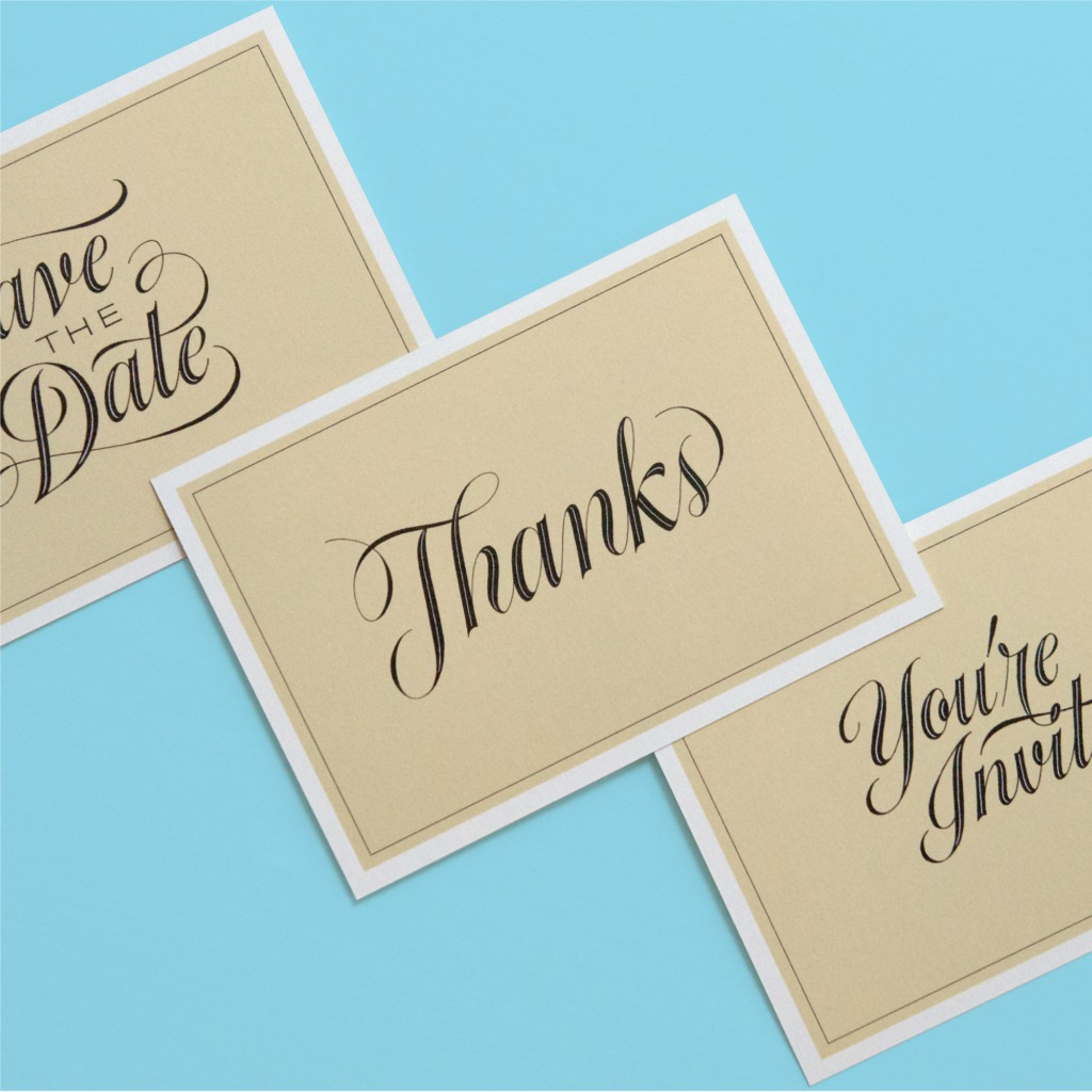 Personalize All Your Wedding Correspondence.