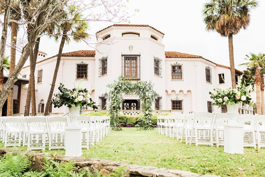 I'm all about outdoor ceremonies! Just make sure to 1. have a rain plan and 2. schedule the wedding when it's not too harsh or