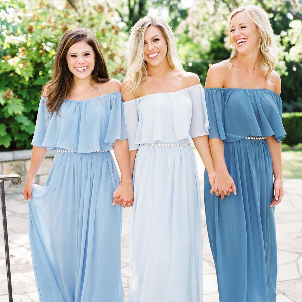 Ombré hues and beautiful blues.💙 #ShopRevelry
