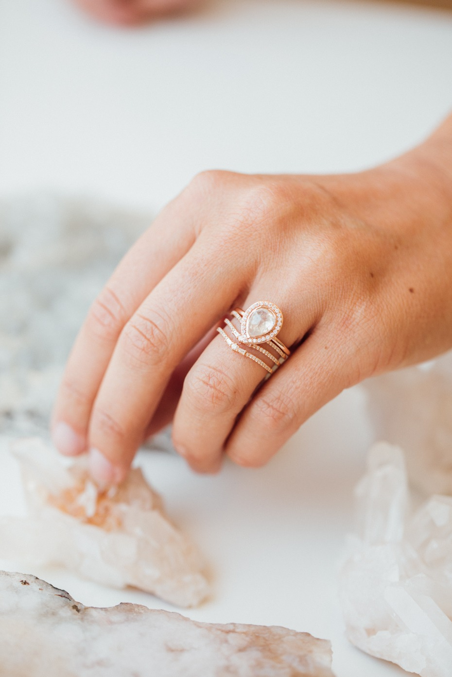 Sarah O. Jewelry Just Perfected All of Our Ring Stacking Situations