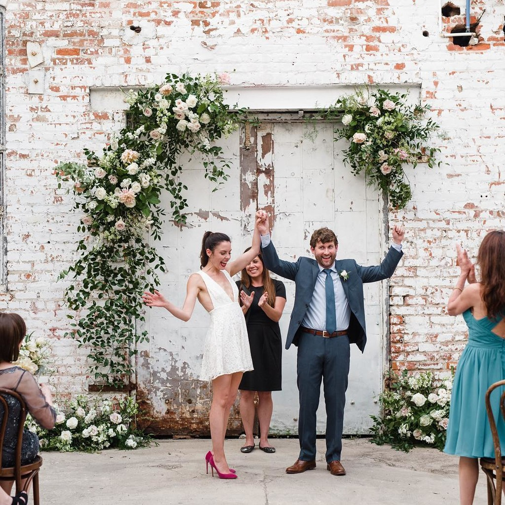 How we feel about getting the photos back from our FIRST wedding at the Warehouse of Lovegood 😍 This bride can do both! Be stunning