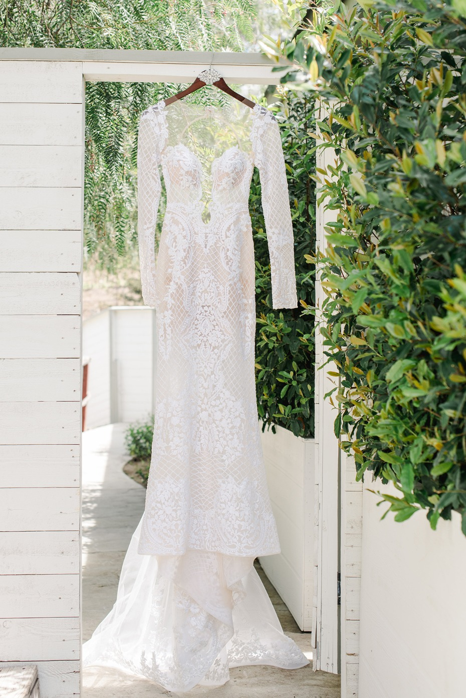 wedding dress from Berta
