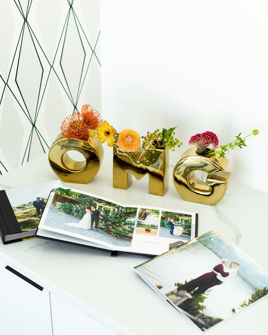 wedding photo albums from Shutterfly