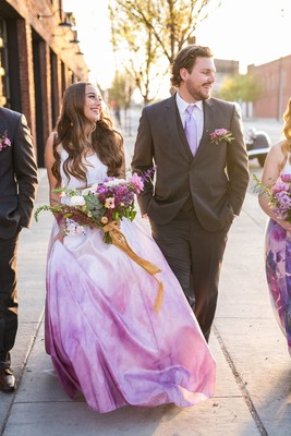 How To Have A Neon And UltraViolet Wedding Day