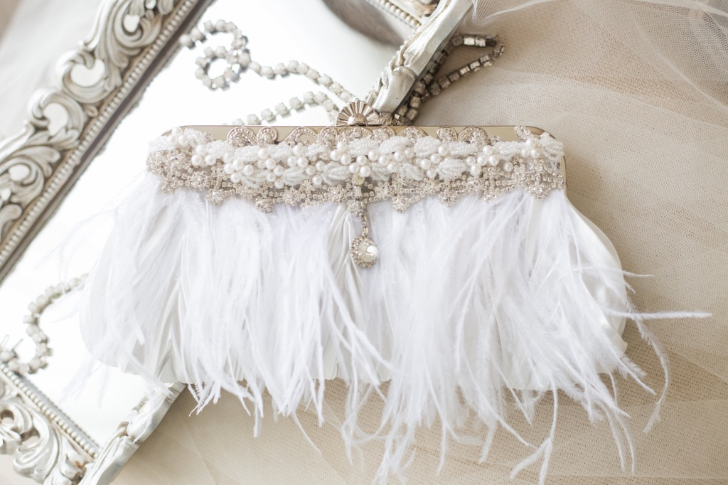 Bespoke bridal clutches that are the perfect keepsakes.