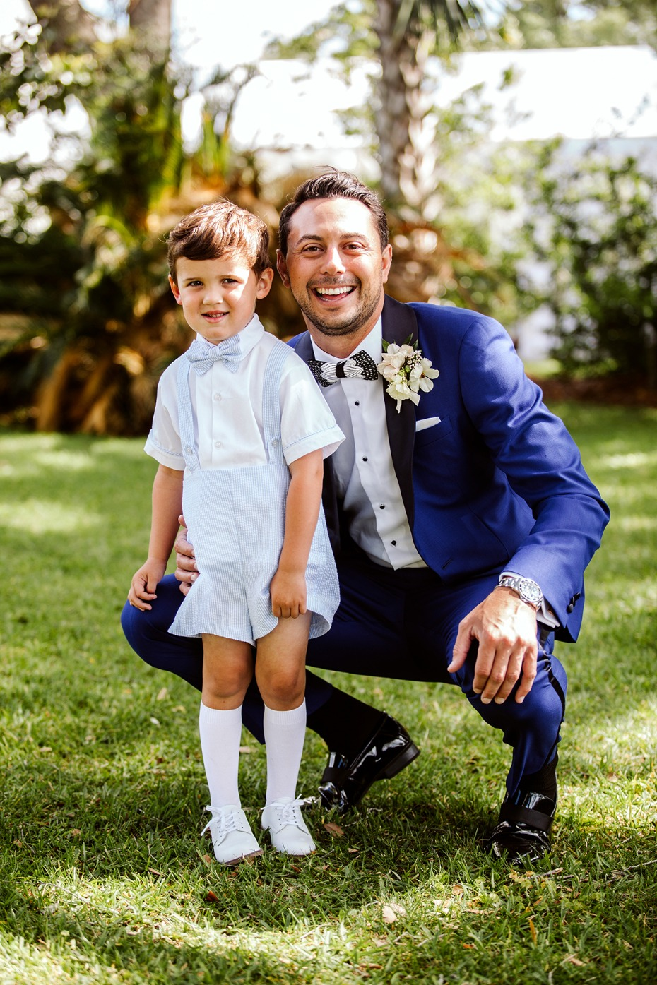 little bitty ring bearer