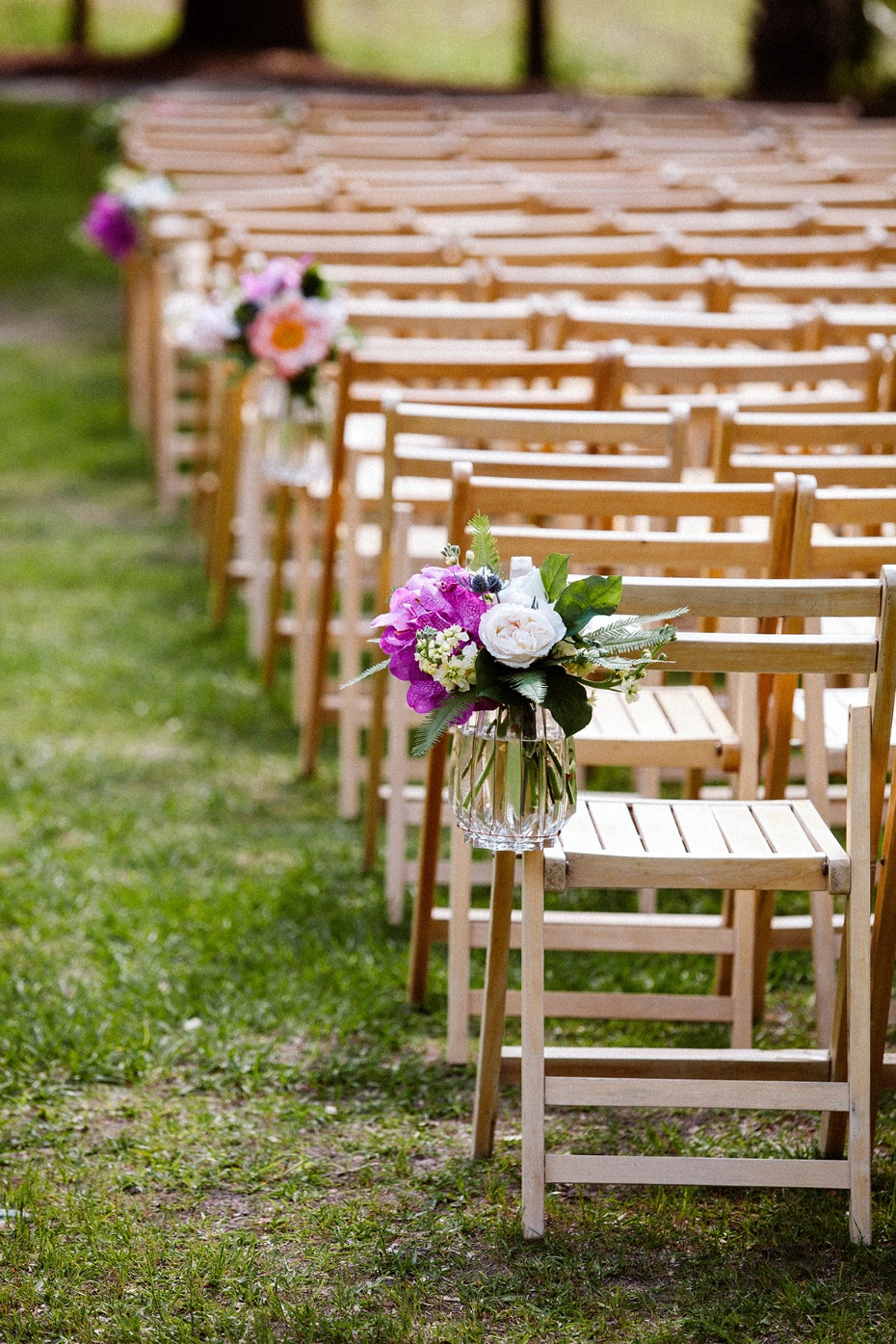 wedding aisle decor for your summer wedding
