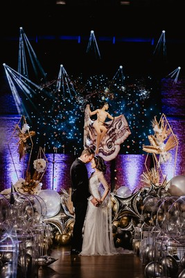 How To Add Glamorous Gilded Starlight To Your Wedding Day