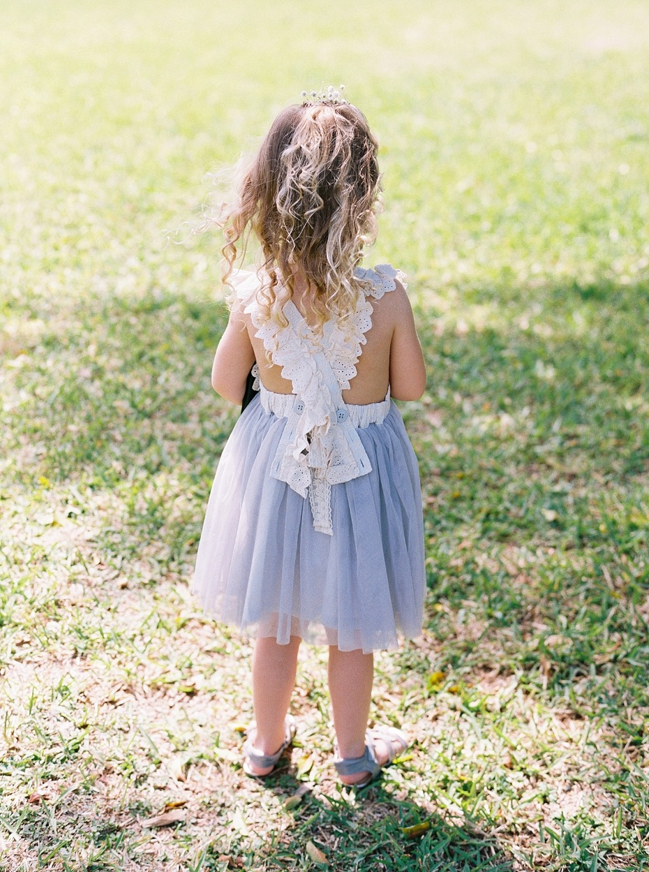 cute little flower girl dress