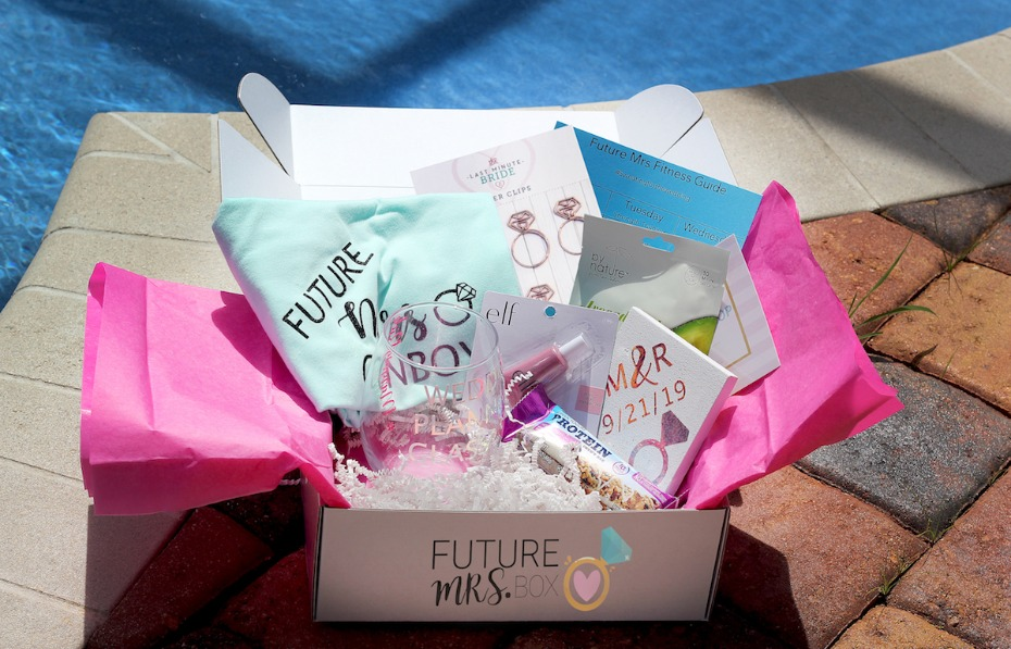 Newly-Engaged Brides-to-Be All Need This One Thing: The Future Mrs. Box