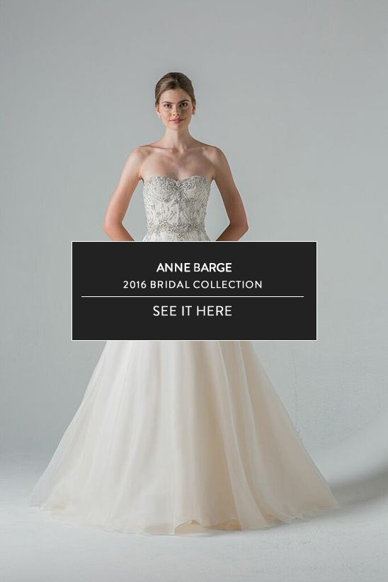 Anne Barge Bridal Collection Spring 2016