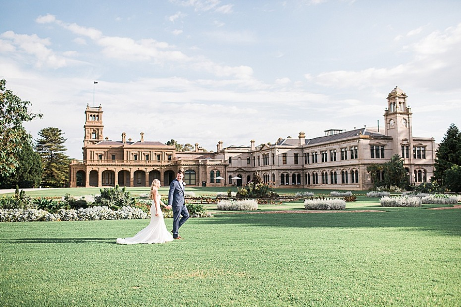 Werribee Mansion wedding venue