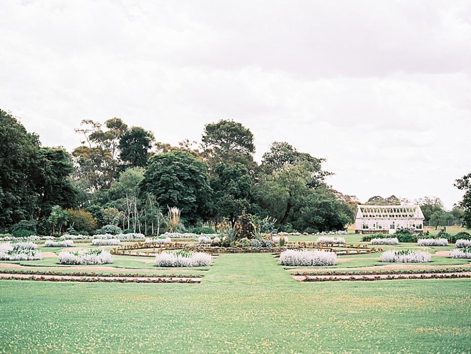 garden at Werribee Mansion