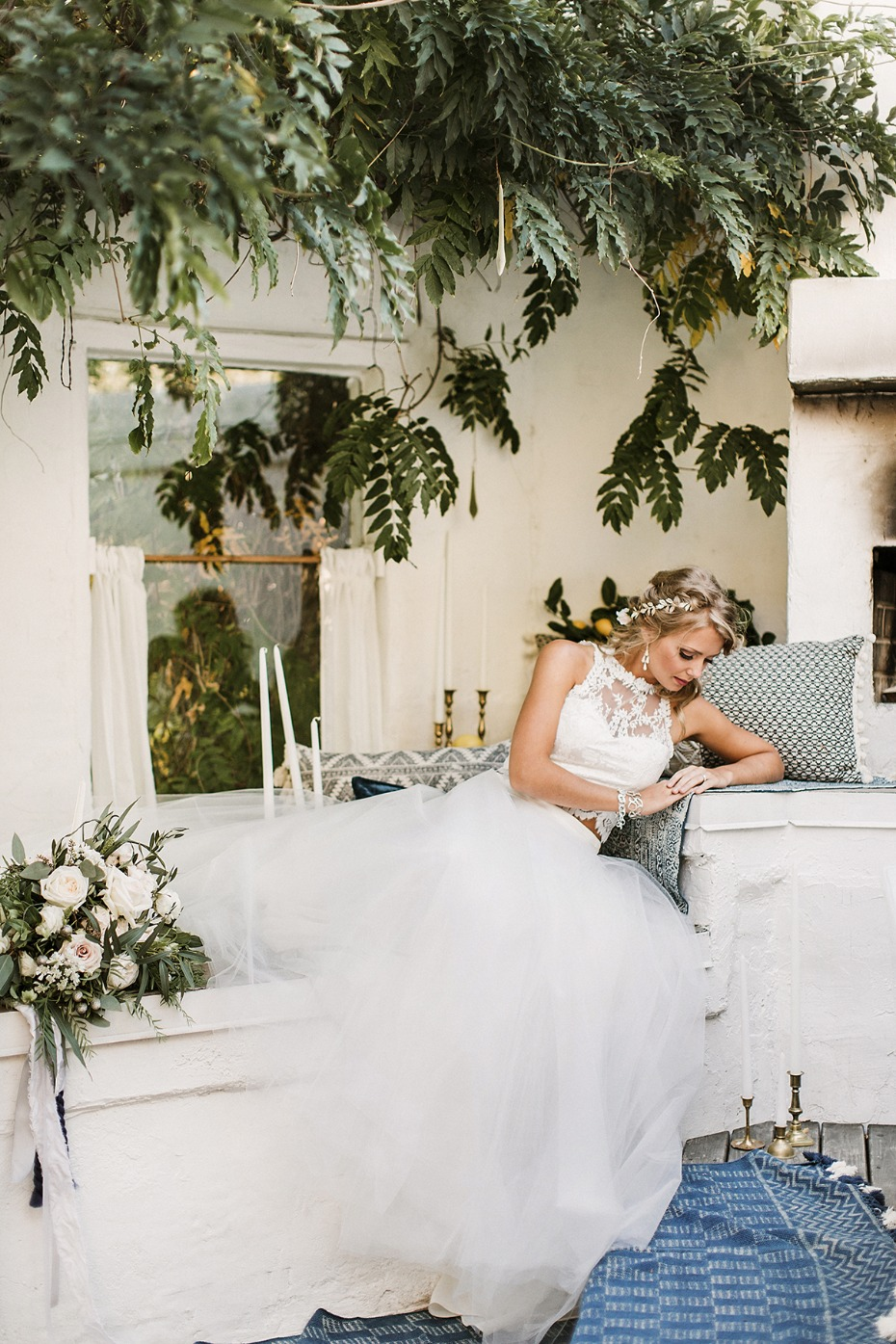 romantic wedding style for your summer wedding