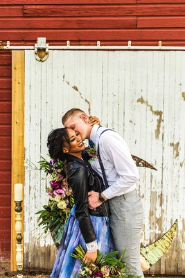 How To Have A Galaxy Inspired Rustic Barn Wedding
