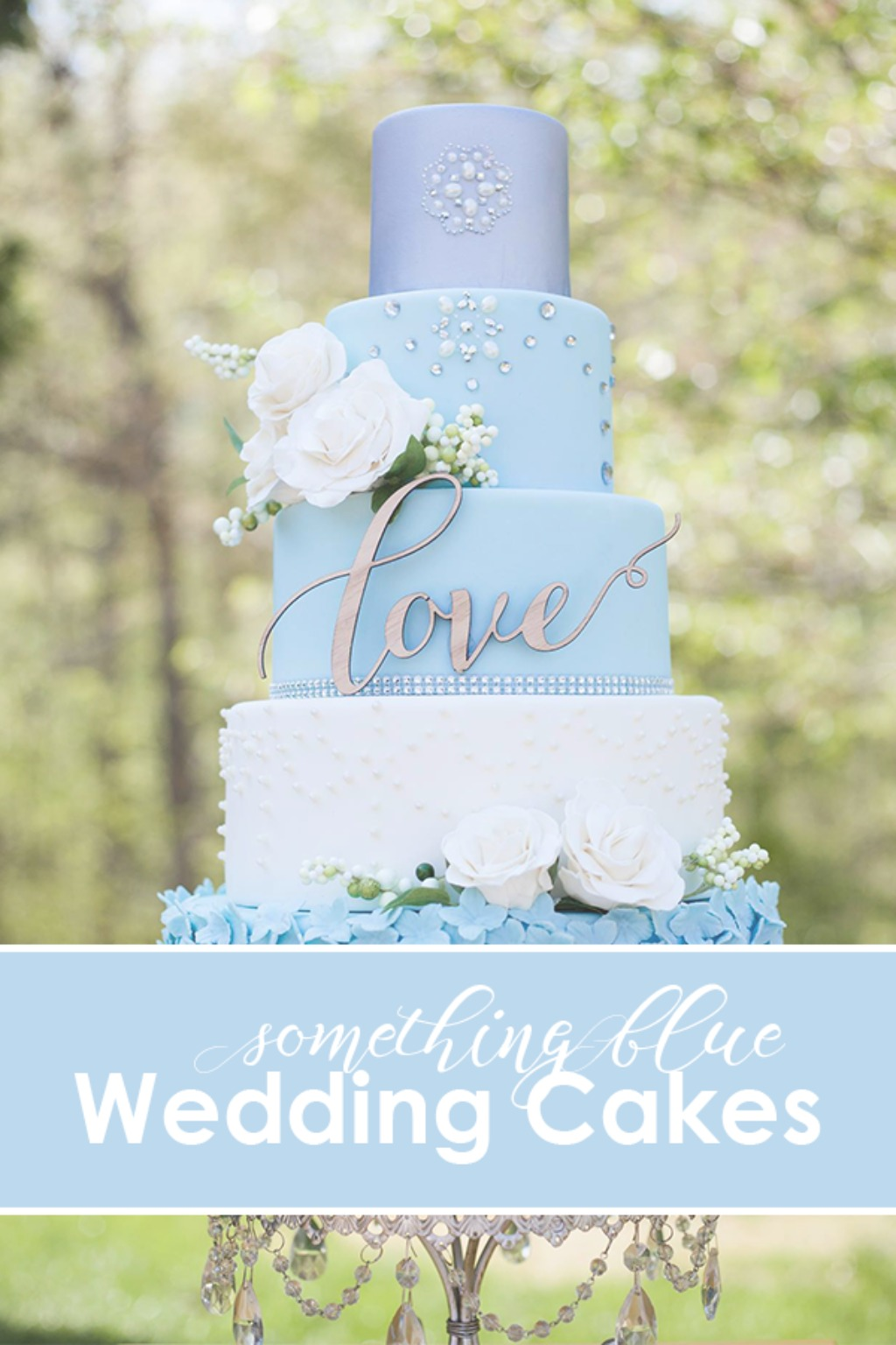 Something Blue for your Wedding Day!