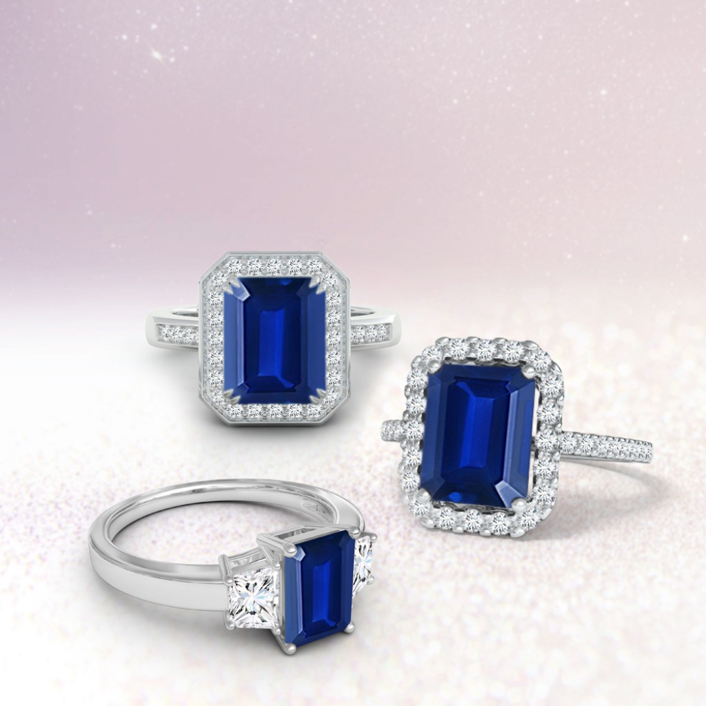Splendid sapphire rings that balance elegance with effortlessness. Choose your favorite.