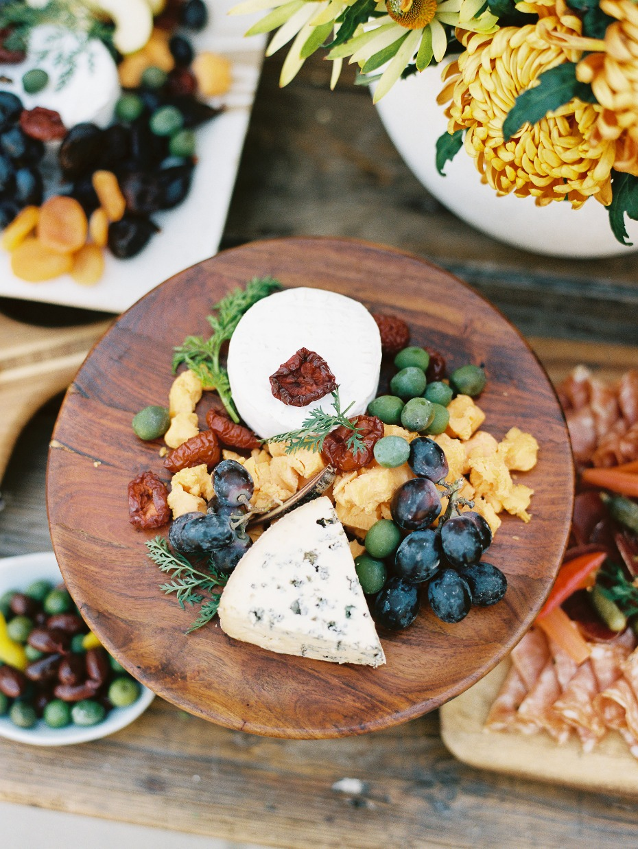Summer Wedding Cocktail-Hour Ideas: Cheese Stations