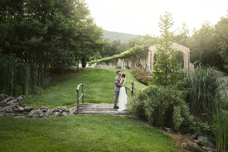 Valle di Badia wedding venue in Italy