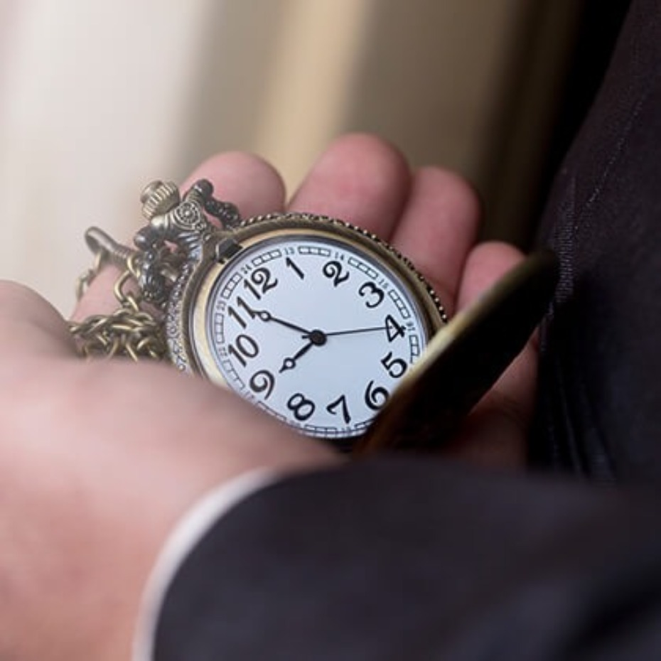 Every Groomsman Needs to Have a Pocket Watch