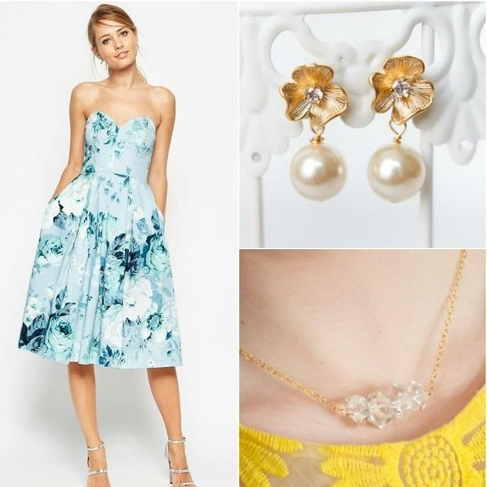Outfit inspiration perfect for your bridal shower, rehearsal dinner, or bridesmaids!